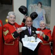 Chelsea Pensioners invited to Afternoon Tea at The Cavendish London
