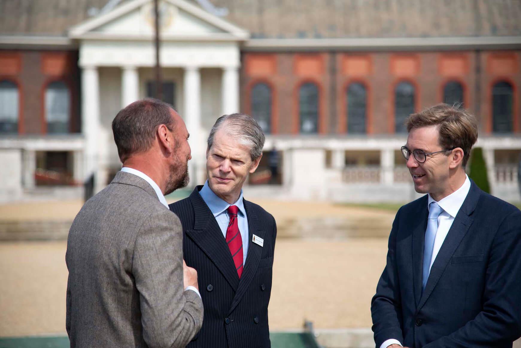 MP Tobias Ellwood meets General Sir Adrian Bradshaw
