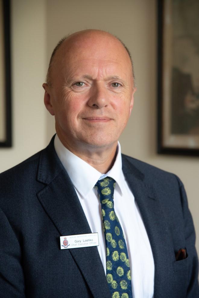 Gary Lashko - Chief Executive of the Royal Hospital Chelsea